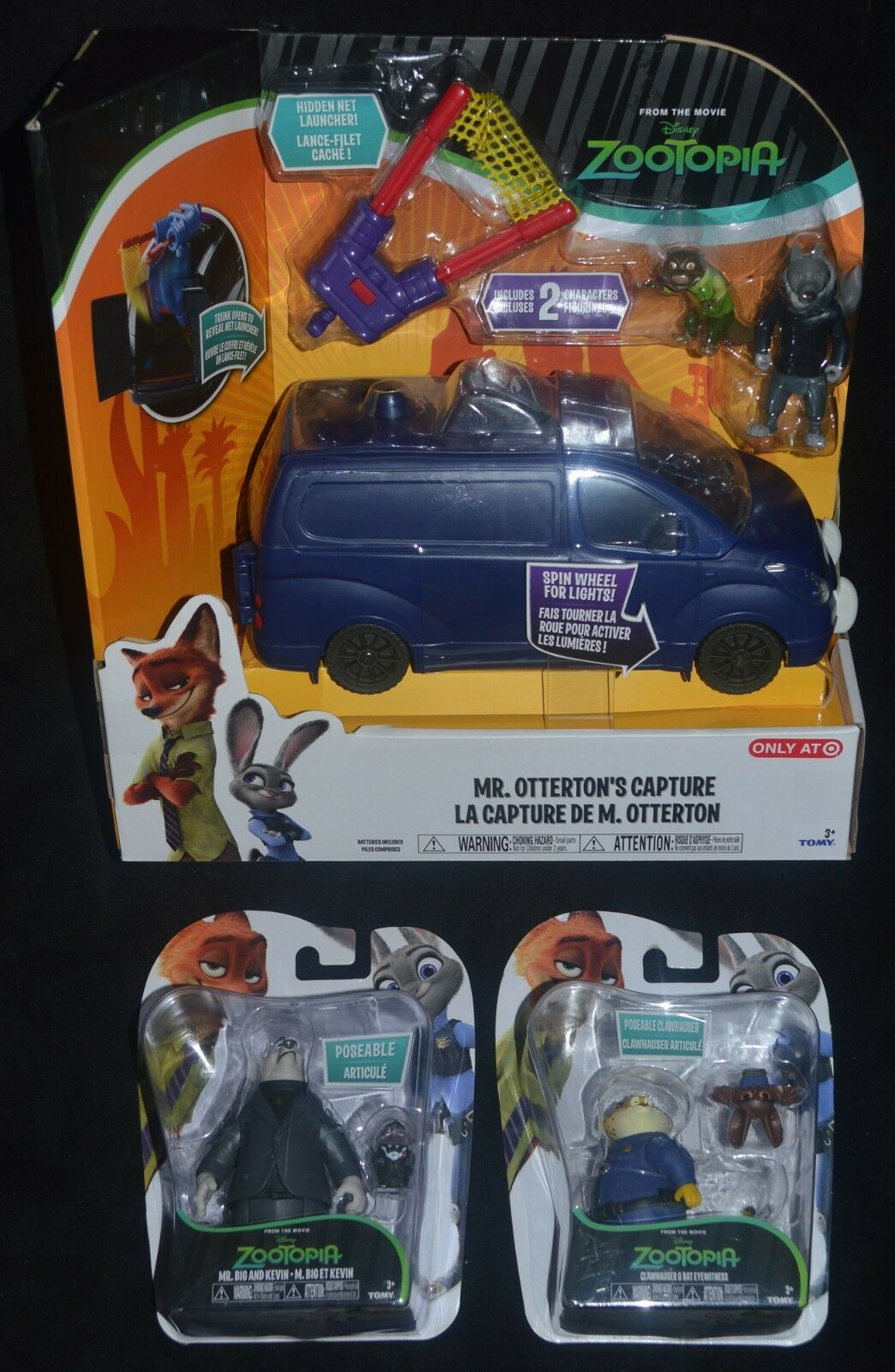 Zootopia MR OTTERTON'S CAPTURE Target Stores Exclusive MR BIG, BIG, BIG, KEVIN, CLAWHAUSER 89b45f