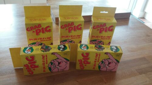"""GRAB A PIG CARD GAMES 5 /""""ORIGINAL GAMES/"""" FOR THE PRICE OF 4"""