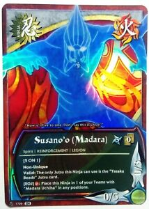 Postal-Naruto-Pesonalizado-Collectible-Card-Game-Ccg-Foil-Fancard-56-Set-30