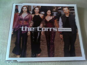 THE CORRS  IRRESISTIBLE  UK CD SINGLE - <span itemprop=availableAtOrFrom>Gloucester, Gloucestershire, United Kingdom</span> - Please return Item within 7 days in unsatisfied for a refund or replacement Most purchases from business sellers are protected by the Consumer Contract Regulations 201 - Gloucester, Gloucestershire, United Kingdom