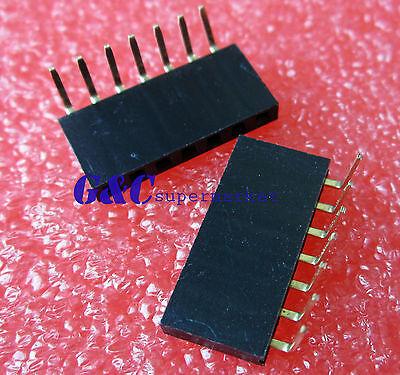 20PCS 16 Pin 1x16P 2.54mm Long Leg  11mm Single Row Female Straight Header Pin
