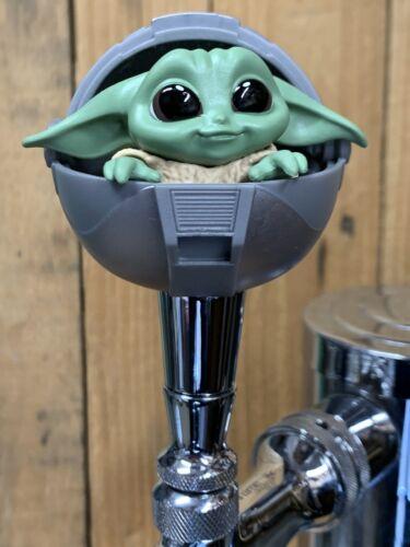 BABY Yoda Tap Handle for Beer Keg mini pull knob The Child Mandalorian Sphere