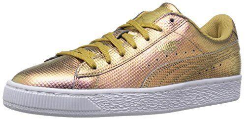 PUMA 36286003 Mens Basket Classic Holographic Fashion Sneaker- Choose SZ/Color.