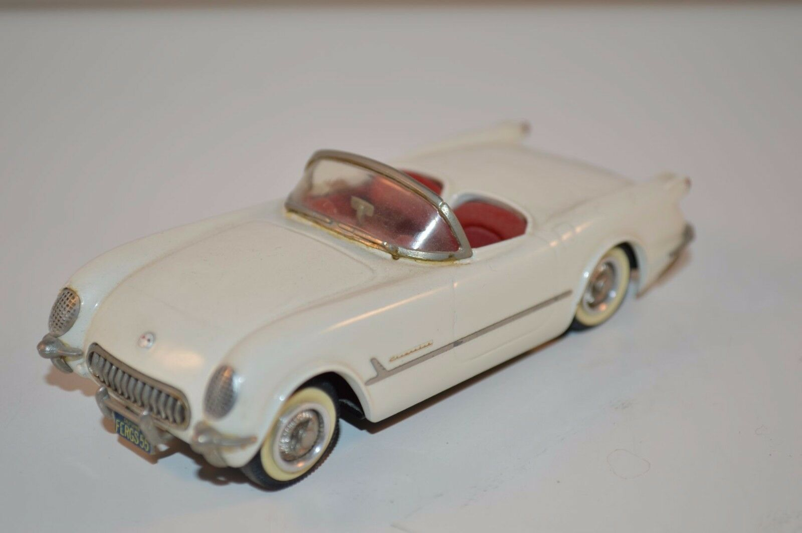 Western models plumbies Chevrolet Corvette 1953 -55 small wheels near mint