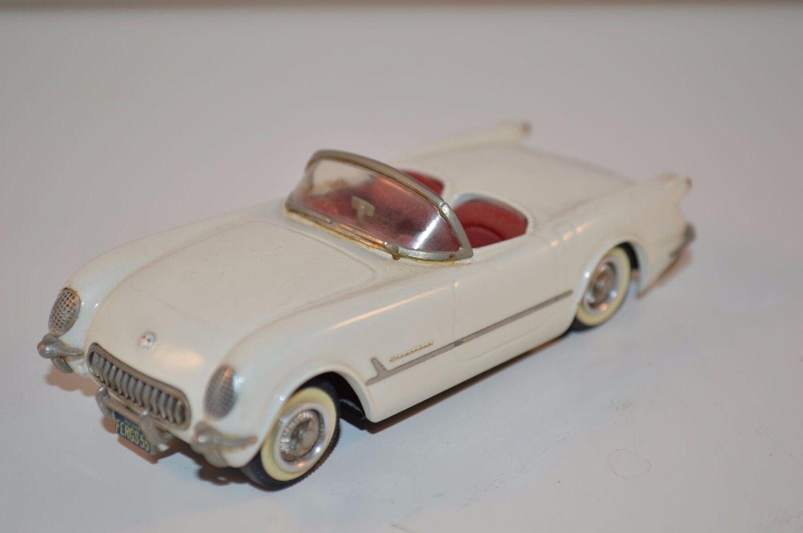 Western models plumbies Chevrolet Corvette 1953  -55 petit wtalons near mint  vente pas cher