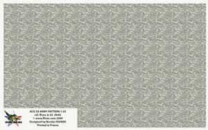 FFSMC Productions Decals 1//35 US Army 6 Colors Desert camo pattern