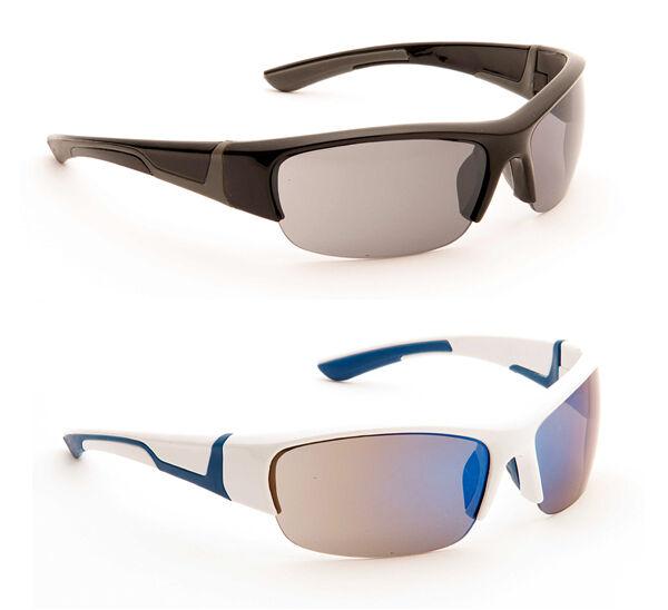 Affidabile Da Uomo Avvolgere Sport Sci Biker Tempo Libero Designer Occhiali Da Sole Bianco Nero Blu