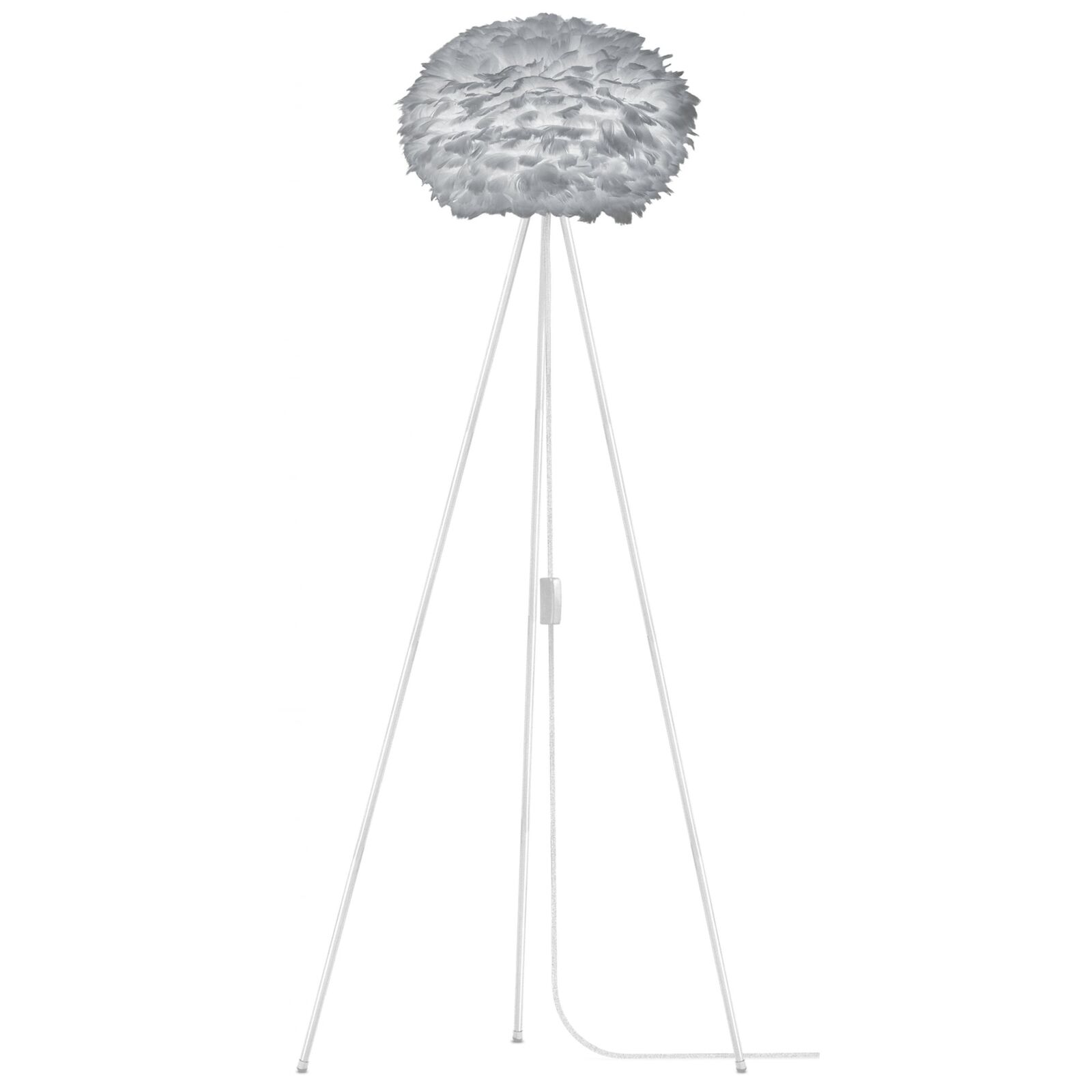Umage Vita Copenhagen Eos Tripod Floor Lamp - Light grau Eos Medium Weiß Tripod