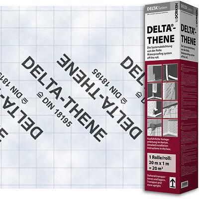 Rational Dörken Delta Thene 20 X 1m Flächenabdichtung 8,95€/qm
