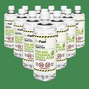 Bioethanol Fuel 24 X 1L Bottle Premium Quality 97% Pure Free Delivery