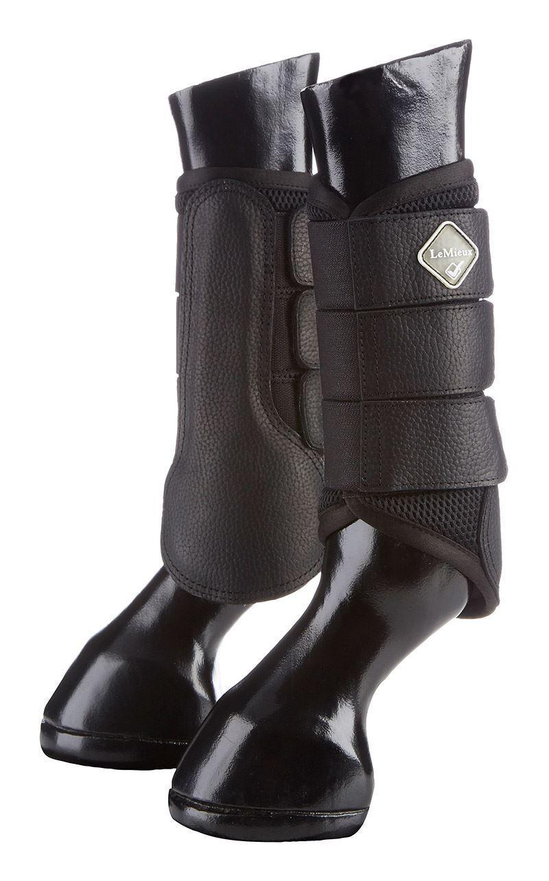 Le Mieux Mesh Brushing Boots - White - Medium - BN