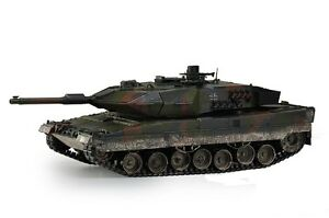 Large Scale RC Leopard 2A5 Battle Tank Upgraded Premium Label Version - Hobby En
