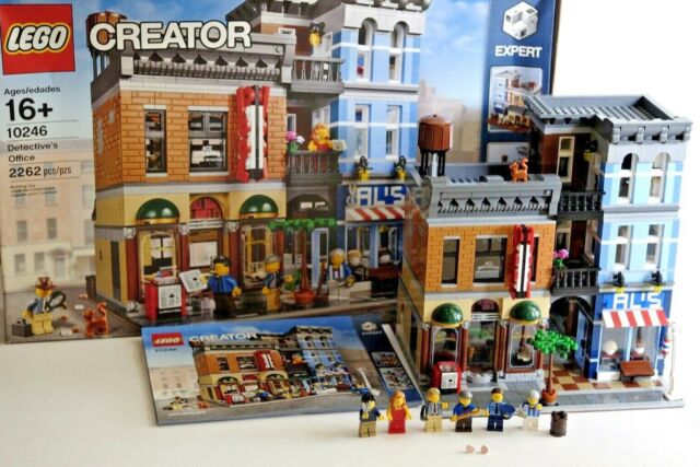 LEGO 10246 Creator Detective's Office — Complete Set! Excellent Condition!
