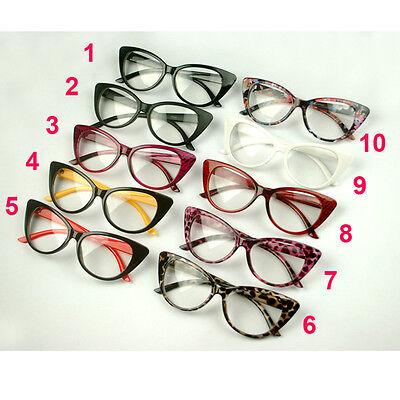 2016 Cat Eye Glasses Sexy Retro Women'S Eyewear Frame Vintage Eyewear 10Colors