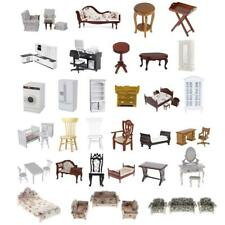 1:12 Dolls House Miniature Living Room/Kitchen Furniture Set Doll Room Décor