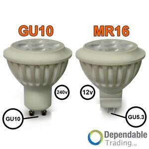 4-5w-35w-6w-50w-Lumiere-jour-Blanc-Chaud-ampoules-LED-Lampes-Spot-GU10-MR16