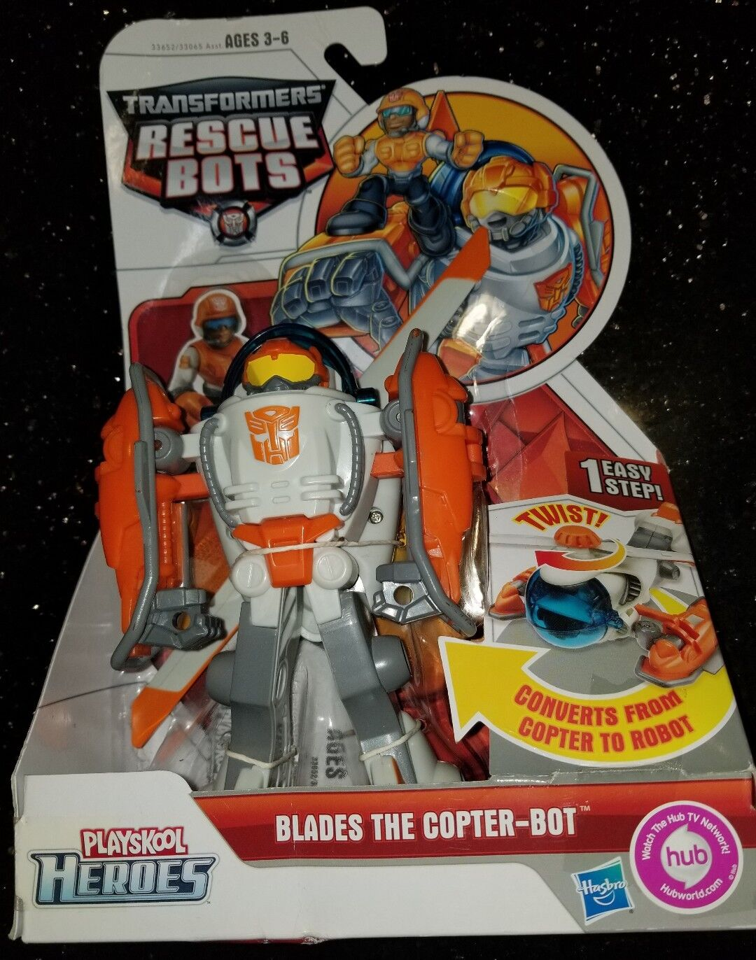 Transformers Rescue Bots - Blades The Copter-Bot Original New 01