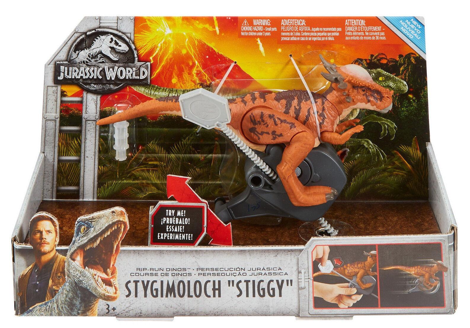 Jurassic World RIP RUN DINOS STIGIMOLOCH STIGGY FIGURE FALLEN KINGDON CONNECTS