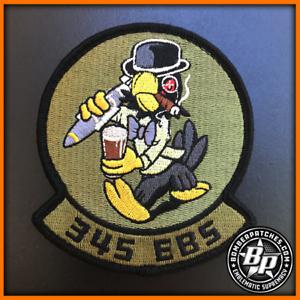 345th Bomb Squadron EBS 2018 Deployment Patch RAF Fairford Dyess AFB B-1 BONE