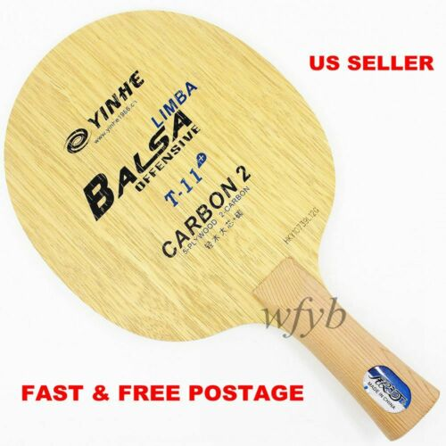 tennis de table ping pong Blade FL shakehand 5 Bois Yinhe Galaxy T-11 2 Carbone NEUF