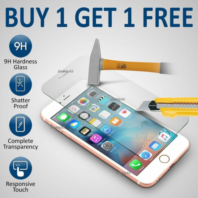 For Apple IPhone 6 Plus - 100% Genuine Tempered Glass Film Screen Protector New