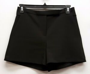 3ddc95776a2e Image is loading HALSTON-HERITAGE-Size-8-Black-Ponte-Knit-Dress-
