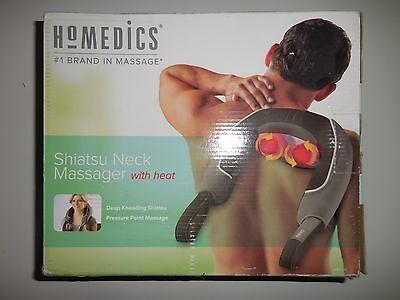 Homedics Shiatsu Neck Massager With Heat Model NMS-310 New Open Box