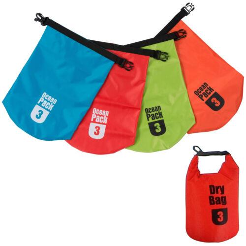 Waterproof Bag 3L Dry Sack Canoe SUP Kayak Paddleboard Sailing Boating Swim Surf