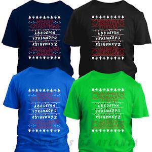 Merry Christmas T-shirt Christmas Things T shirt inspired by Stranger Things