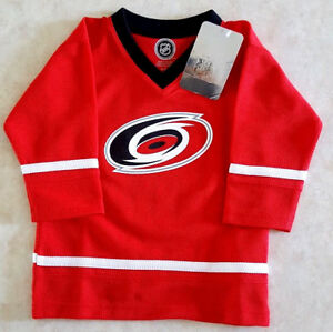 Image is loading Carolina-Hurricanes-Kids-Jersey-Size-3T-Baby-Toddler- be90db1d4