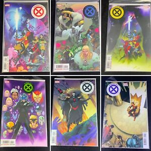 (Lot Of 6) Powers Of X Issues 1, 2, 3, 4, 5, 6 Marvel Hickman, Silva, Gracia