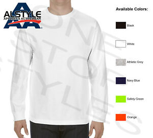 AAA Alstyle Long Sleeve T-Shirts Plain Blank Cotton Tees 1304 S-3XL
