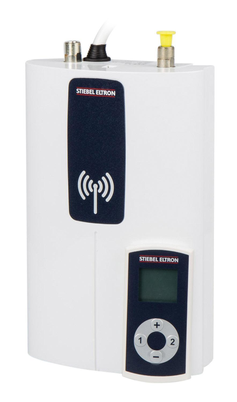 Kompakt-Durchlauferhitzer Stiebel Eltron DCE 11/13 rc mit Fernbedienung