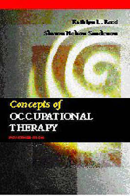 Concepts of Occupational Therapy-ExLibrary