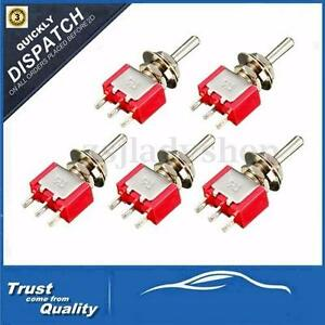1-5-10-Pcs-3-Pin-Mini-Miniature-SPDT-Toggle-Switch-Car-Boat-Dashboard-6A-125VAC