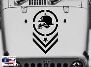 Metal Mulisha Hood Blackout Vinyl  Decal Sticker Black Car Truck SUV For Ford
