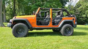 Image is loading Rear-Tube-Doors-1-Pair-Jeep-Wrangler-JK- & Rear Tube Doors (1 Pair) - Jeep® Wrangler JK Unlimited 2007-2017 ...