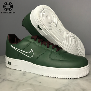 online store really cheap size 7 Details about NIKE AIR FORCE 1 LOW 'HONG KONG' - DEEP FOREST/WHITE-EL  DORADO - 845053-300
