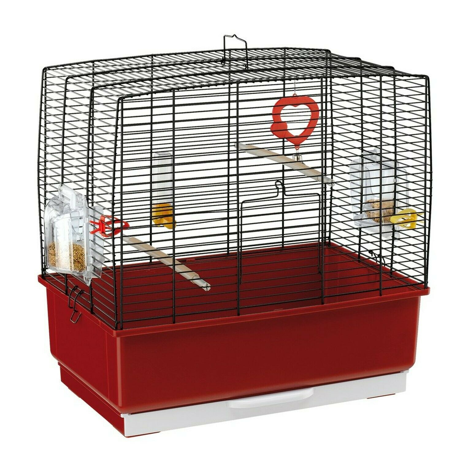Ferplast Rekord 3 Bird Cage, 49 x 30 x 48.5 cm, Black