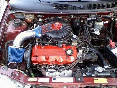 RACING AIR INTAKE SYSTEM DRY FILTER For 91-97 Geo Metro 1.0L L3 1.3L L4