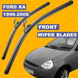 Image Is Loading U Hook Front Set Wiper Blade For Ford