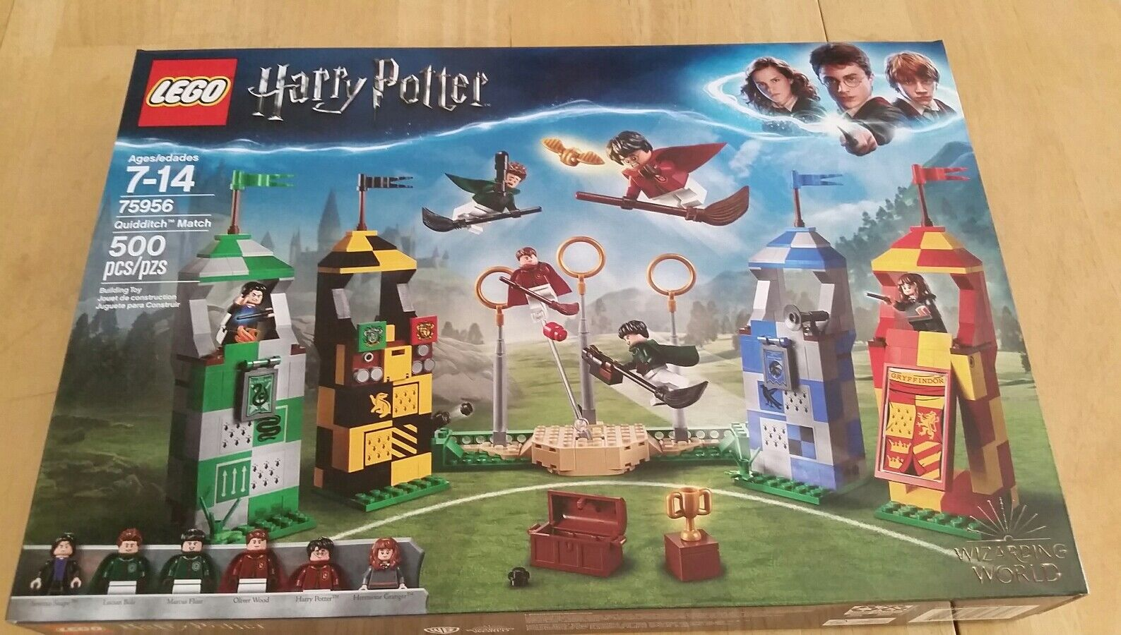 NEW NIB LEGO Harry Potter 75956 Quidditch Match NISB Factory Sealed In Hand