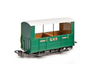 G-V-T-4-Wheel-OO-9-Coach-Open-Sides-Peco-GR-520-free-post