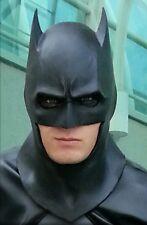 Black Urethane Comic style Batman Cowl/Mask