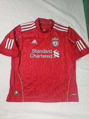 Adidas Liverpool FC Standard Charter Red Football Soccer Jersey ...