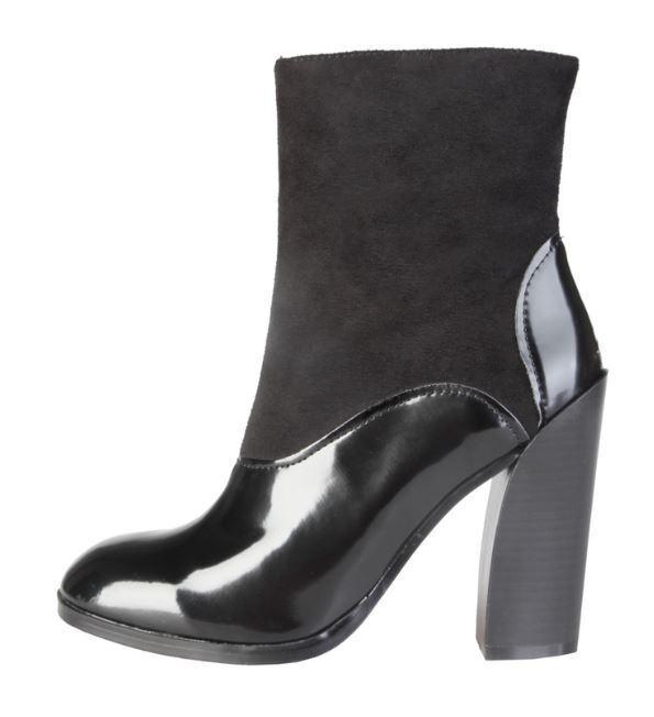 Versace V1969 CORDELIE black Echtleder Stiefelette Pumps Gr 37 39 40