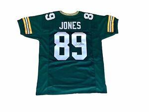 James Jones Green Bay Packers (Home Green) Signed Jersey JSA | eBay