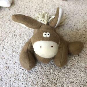 1985-Vintage-Hallmark-Friends-Of-Rodney-Reindeer-DICKENS-The-Donkey-Plush-Doll
