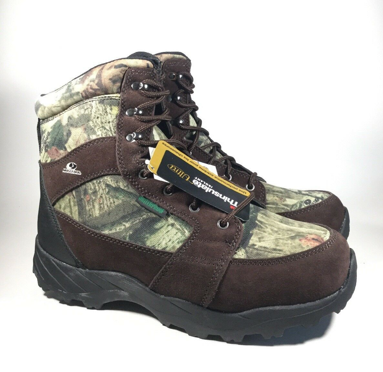 M3944 New Men's Mossy Oak MO2878 Hauler Waterproof Thinsulate Boots US 11.5
