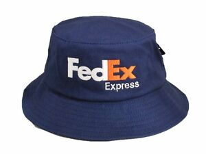 946597a8 Image is loading FedEx-Express-Flexfit-Bucket-Hat-Yupoong-Fishing-Cap-
